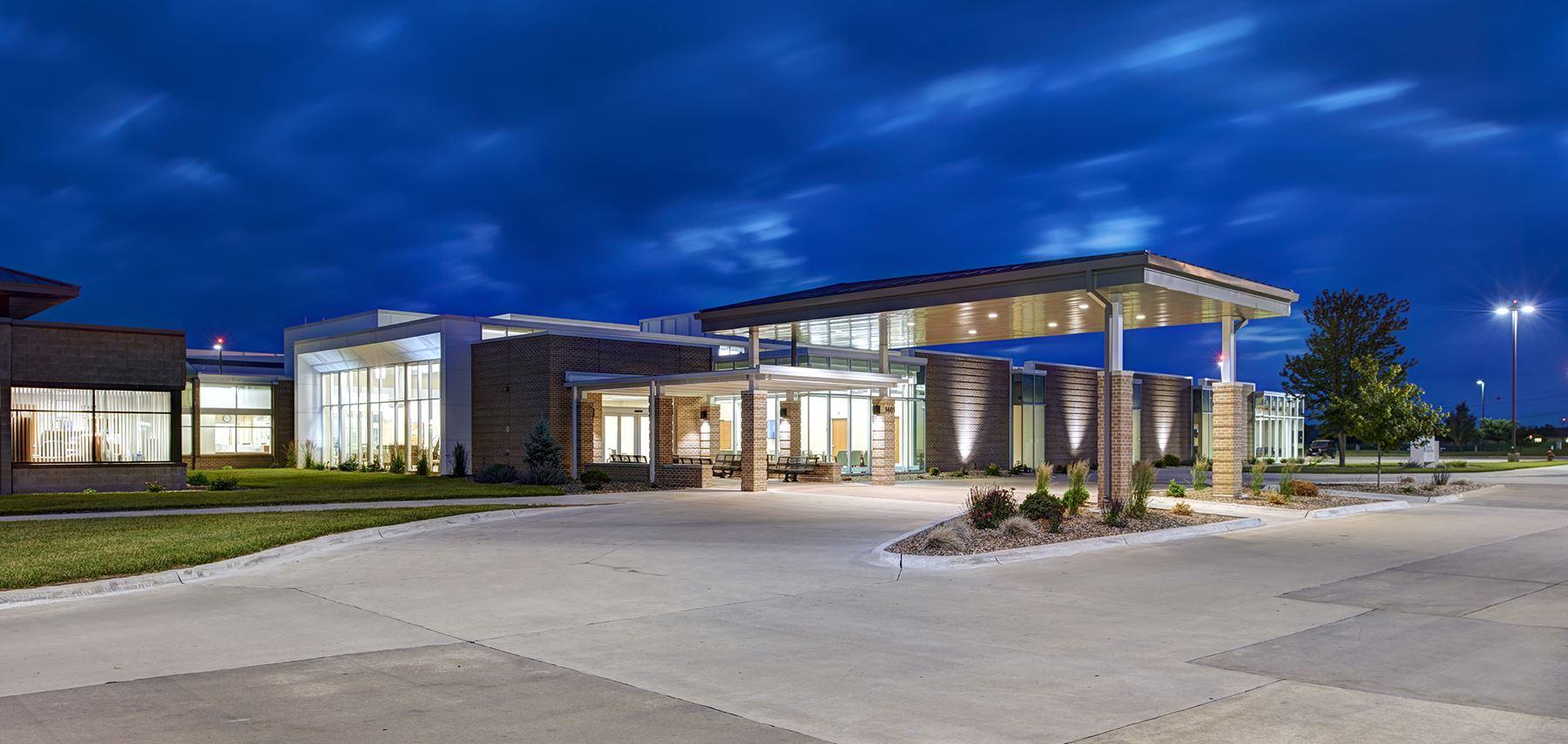 Award Of Merit With Distinction St Patrick Catholic Church Narthex Addition Cedar Falls Architect Ahts